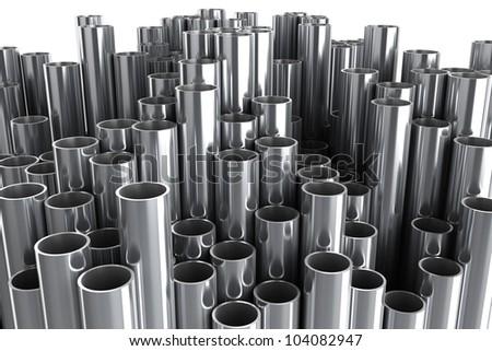 steel metal tube