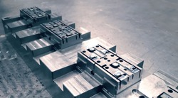 steel mold for plastic injection product.