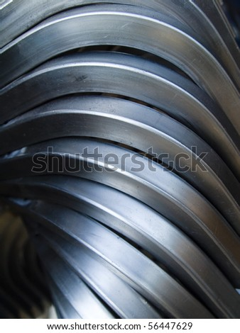 Steel Pipe bending forming for use in directors furniture