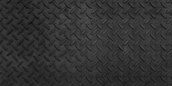 Steel plate pattern Manhole cover of black dark color ,Black dark grey Checker Plate abstract floor metal stanless background stainless pattern surface.