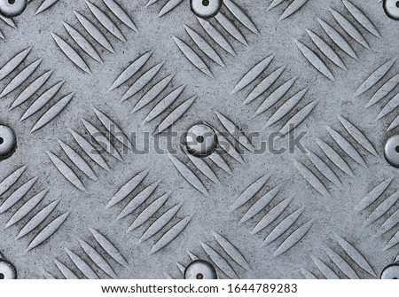 Photo of  Steel plate texture. Steel background. Steel plate background