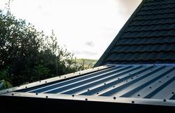 Steel preformed metal roof panels