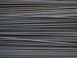 Steel reinforcement for concrete reinforcement on the construction site. Texture, background