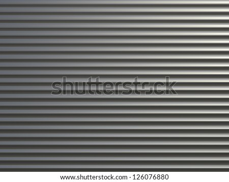 Steel shiny rolling shutter door texture with horizontal lines. Shutterstock Mobile  Royalty Free Subscription Stock Photography