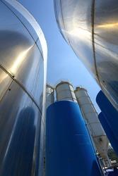 Steel silos