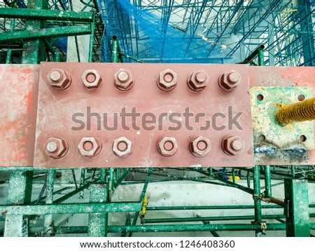 steel structure joint #1246408360