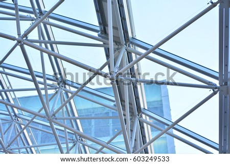 Steel Structures  , truss Structures , Steel joints #603249533