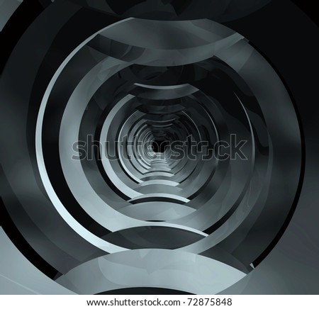 Steel tunnel