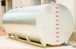 steel water  tank wait for install