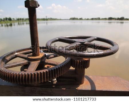 steel Watergate rotary