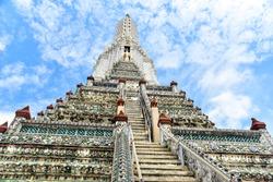 Steep Stairways to the Top of Wat Arun