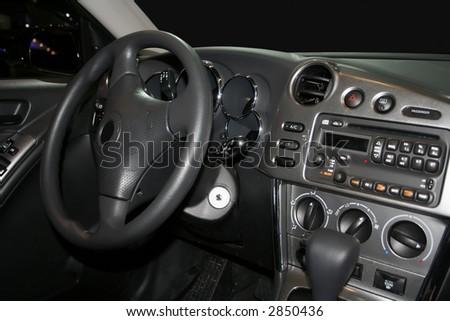Steering wheel from a luxury car #2850436