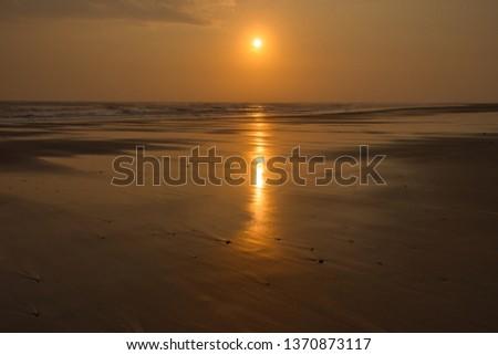 Steetley beach at sunrise