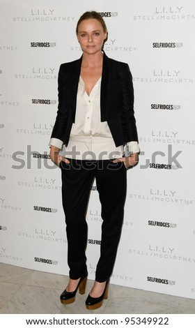 Stella McCartney introduces her perfume LILY at Selfridges in London  08/02/2012 Picture by: Simon Burchell / Featureflash