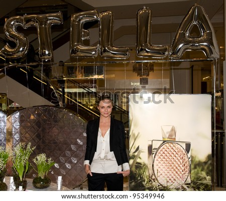Stella McCartney introduces her perfume LILY at Selfridges in London  08/02/2012 Picture by: Simon Burchell / Featureflash - stock photo