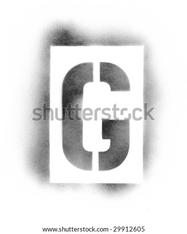 stencil letters in spray paint stock photo 29912605 shutterstock