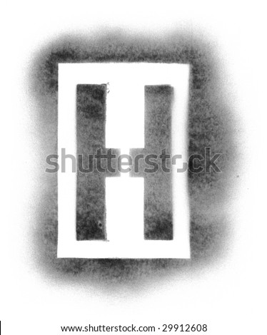 stencil letters in spray paint stock photo 29912608 shutterstock. Black Bedroom Furniture Sets. Home Design Ideas