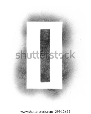 stencil letters in spray paint stock photo 29912611 shutterstock. Black Bedroom Furniture Sets. Home Design Ideas