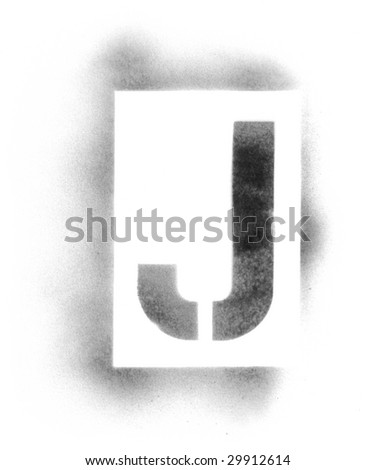 stencil letters in spray paint stock photo 29912614 shutterstock. Black Bedroom Furniture Sets. Home Design Ideas