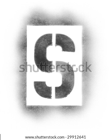 stencil letters in spray paint stock photo 29912641 shutterstock. Black Bedroom Furniture Sets. Home Design Ideas