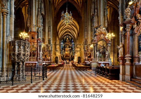 Stephans cathedral Vienna, Austria