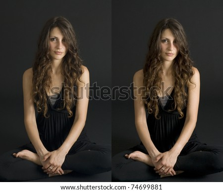 Free Female Naked Stereo Pairs 92