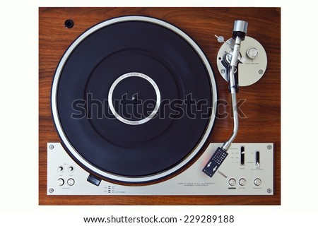 stereo turntable vinyl record...