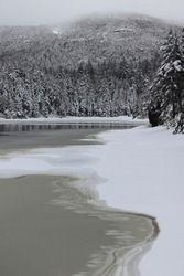 Sterling Pond in the Winter