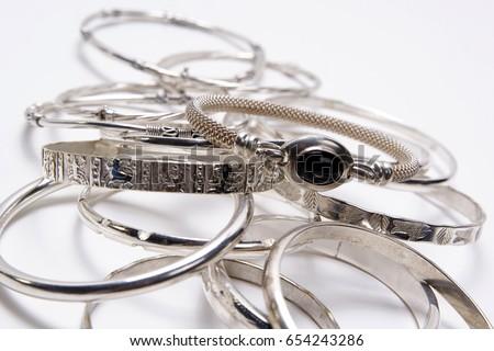 Sterling Silver Bracelets #654243286