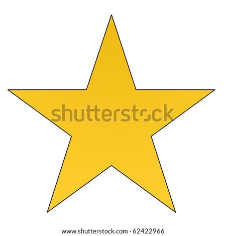 Stern gelb