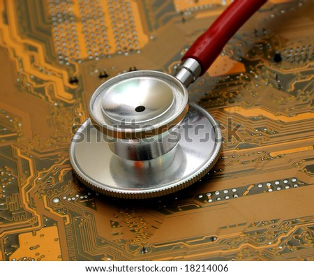 Stethoscope and circuit board