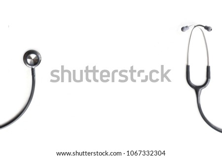Stethoscope isolated on white background #1067332304