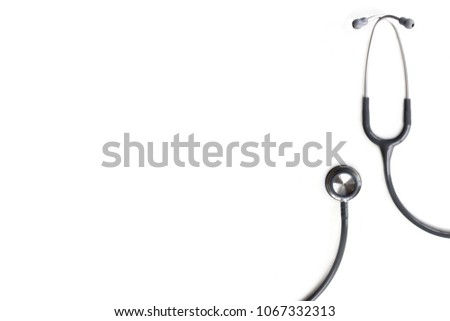 Stethoscope isolated on white background #1067332313