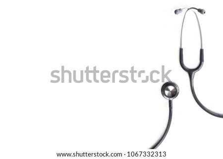 Stethoscope isolated on white background #1067332313