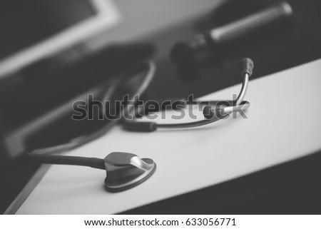stethoscope on a prescription...