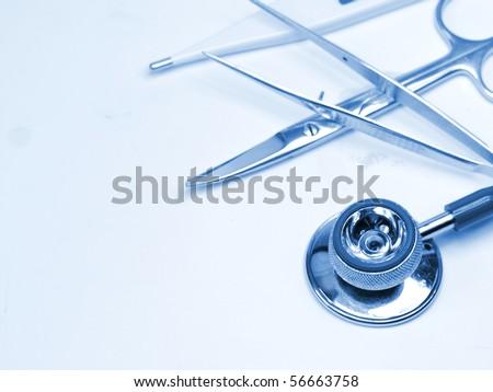 Stethoscope with medicine equipment