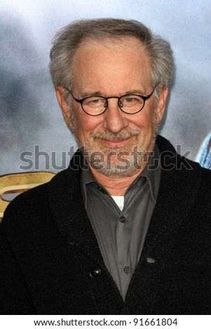 "Steven Spielberg at the ""Cowboys & Aliens"" World Premiere, San Diego Civic Theatre, San Diego, CA. 07-23-11"
