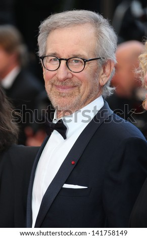 Steven Spielberg at the 66th Cannes Film Festival - Inside Llewyn Davis Premiere, Cannes, France. 19/05/2013