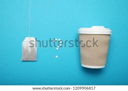 Stevia sweetener, aspartame - sugar substitute. Low calorie tea.