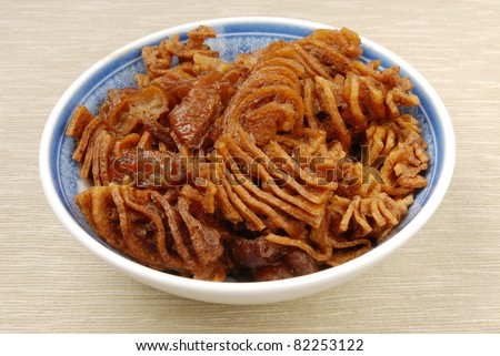 Stewed tofuskin - A Popular Chinese food