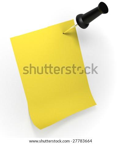 Sticker note