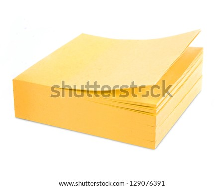 sticker note paper