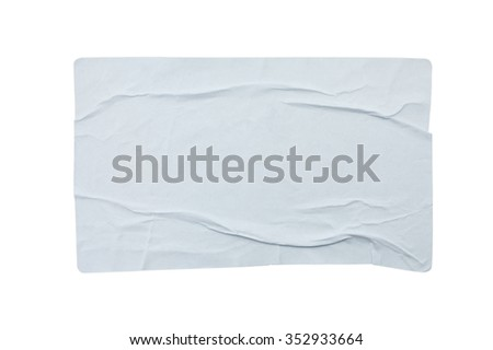 Stickers label isolated on white background #352933664