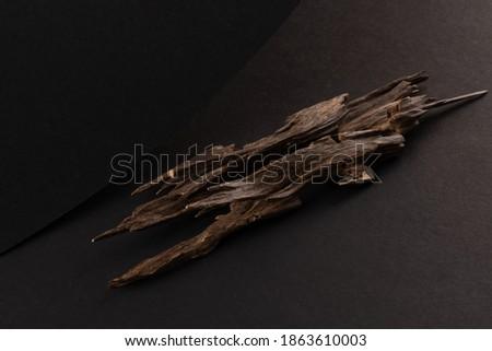Sticks Of Agar Wood perfumes of essential oil Stock fotó ©