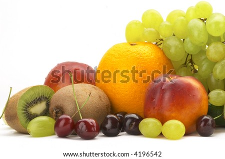 Still-life fruit - stock photo