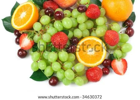 Still-life of fresh fruit - Shutterstock ID 34630372
