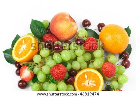 Still-life of fresh fruit - Shutterstock ID 46819474