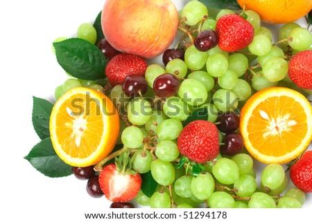 Still-life of fresh fruit - Shutterstock ID 51294178