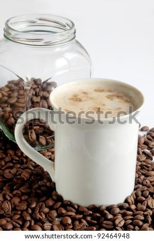 still life, tea