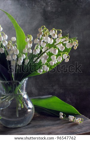 Still life with lillies-of-the-valley